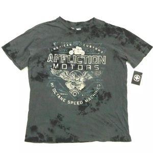 NWT Affliction American Customs Motors T-Shirt